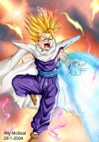 Ssj2 Gohan by: Ally by dragonballdeviants
