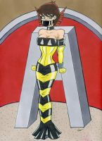 Slave of Fashion Janet Van Dyne a.k.a Wasp by gustorak