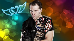 Dean Ambrose Heart Wallpaper by kari5
