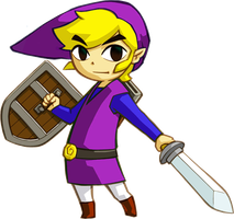 Purple Link 1 by Pheonixmaster1