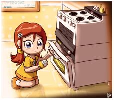 Cooking yum by AleneStar