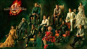 The Hunger Games: Catching Fire by hjpenndragon