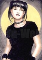 Pauley Perrette miniature by whu-wei
