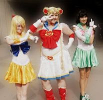 Sailor Scouts. by ShesAPiratee
