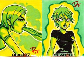 Dead AT 17 Sketch Cards 02 by FrankRapoza