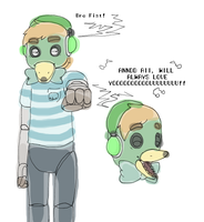 Animatronic: Pewdiepie by Chaos55t