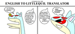 English To Littlequil Translator by BudCharles