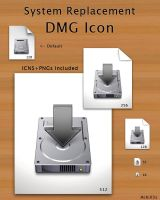 System Replacement DMG Icon by Achill3s-GoDFaTHeR