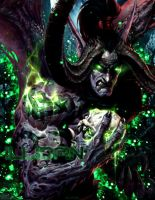 Illidan V.2 ~ Warcraft III by LensroyArt