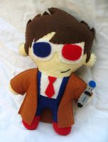 Doctor Who Plush Doll by P-isfor-Plushes
