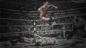 FLYING ELBOW DROP - CM PUNK by cmpunkster