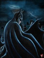 Gotham's Dark Knight by Esau13
