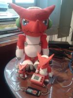 My Shoutmon Collection! by BionicleSangheili86