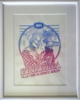 fantastica_screenprint by SitnaRiba