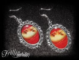 Drowning Earrings by FrillsandMorbidity