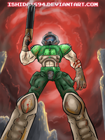 DOOM GUY by Ishida1694
