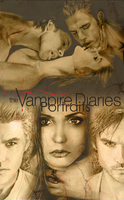 The Vampire Diaries Portraits by AlyWiish