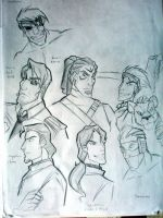 'Con Sketches by Oniwanbashu