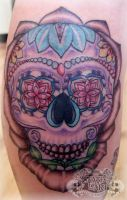 Sugar Skull by state-of-art-tattoo