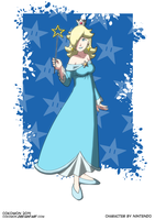 Pin-Up Art - Rosalina by Cokomon