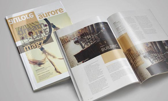 FREE Indesign Magazine Template by calwincalwin