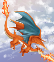 Mega Charizard by TheNornOnTheGo