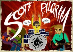 Scott Pilgrim by GTR26