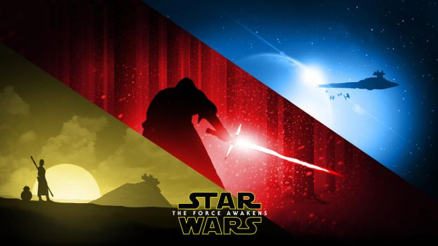 Star Wars: The Force Awakens - Wallpaper by RockLou
