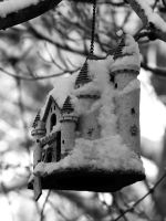 Castle in the Snow by davincipoppalag