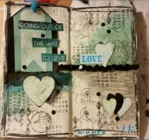 Art Journal pg2 by kaleecee