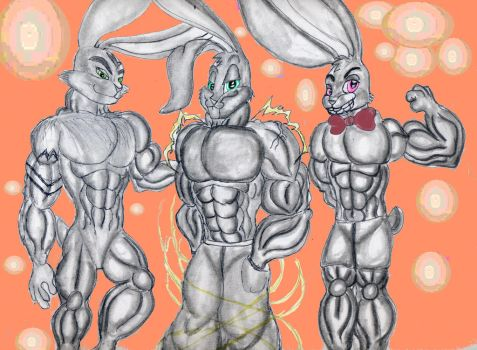 Sexy Rabbits by Bugssayian27