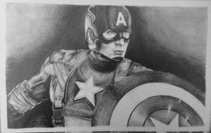 Captain America by Gabgab3010