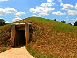 Ocmulgee Indian Mounds by Calypso1977