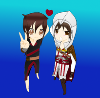 Ezio and me by psycho-zombie