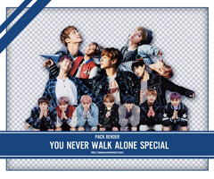 SHARE RENDER BTS YOU NEVER WALK ALONE SPECIAL by yooncua