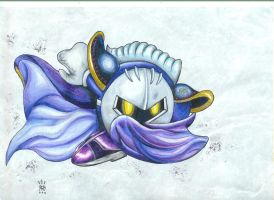 Meta knight: Galaxia darkness by Tauregil