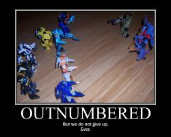 Outnumbered Motivationally by Dark-Anmut