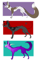 Wolf/Fox Point Adopts (CLOSED) by DingoIconic
