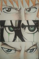 Bleach Eyes COMPLETE by JustinEugene