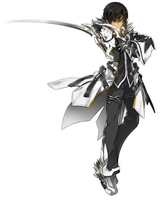 Blade Master with Both Eyes open take from wiki by SoulEaterQueen