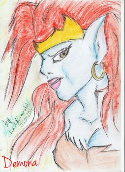 Demona by GreenLadyEmerald