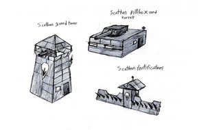 Ruhgaia - Scathen Fortifications by IrateResearchers