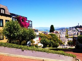 Lombard Street by LumosKitty