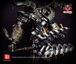 TRANSFORMERS AOE LEADER GRIMLOCK REPAINT MP 07 by wongjoe82