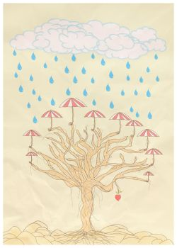 when the rain weeps... by motionstudy