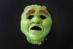 Shrek Mask by SweetDreamscapes