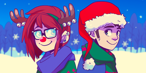Winter Icons. Maybe. by tabby-like-a-cat
