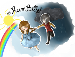 RumBelle Chibi by BlumberBerrry