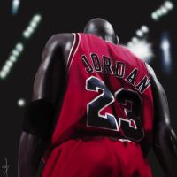 michael jordan by min-surya