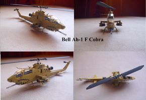 Bell AH-1F Cobra by Teratophoneus
